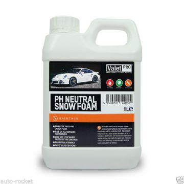 Valet PRO SNOW FOAM PH Neautral 1 Litre - Wax Safe - Pre Car Wash @ AUTO-ROCKET
